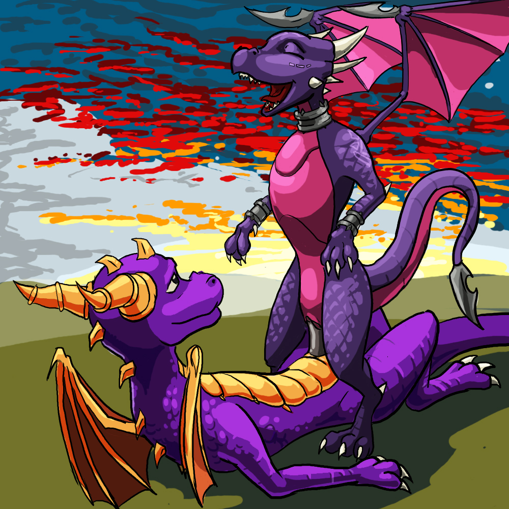 spyro cynder and herpy mating Battle for dream island pencil