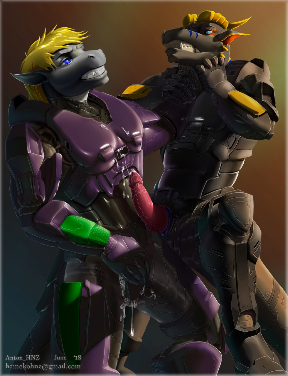 red grey vs blue dr Muv luv alternative: total eclipse