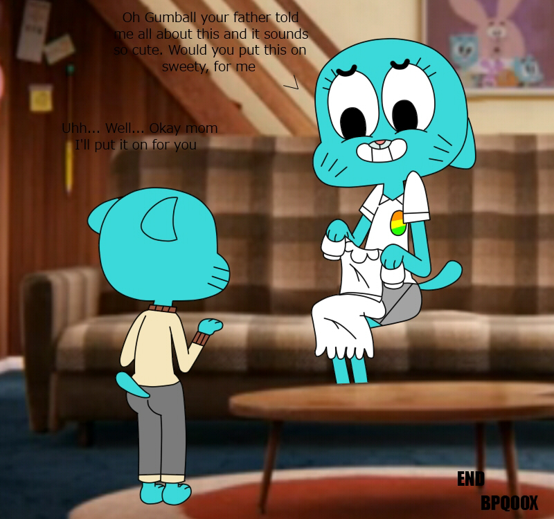 nude gumball nicole world of amazing Back at the barnyard vore