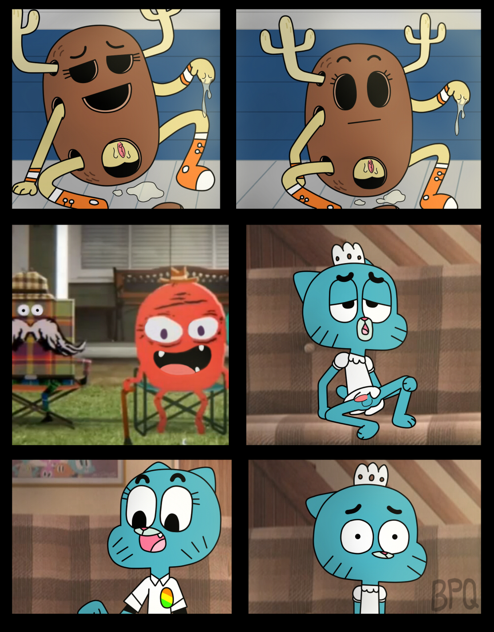 gumball comic sex of world amazing Blade dance of the elementals