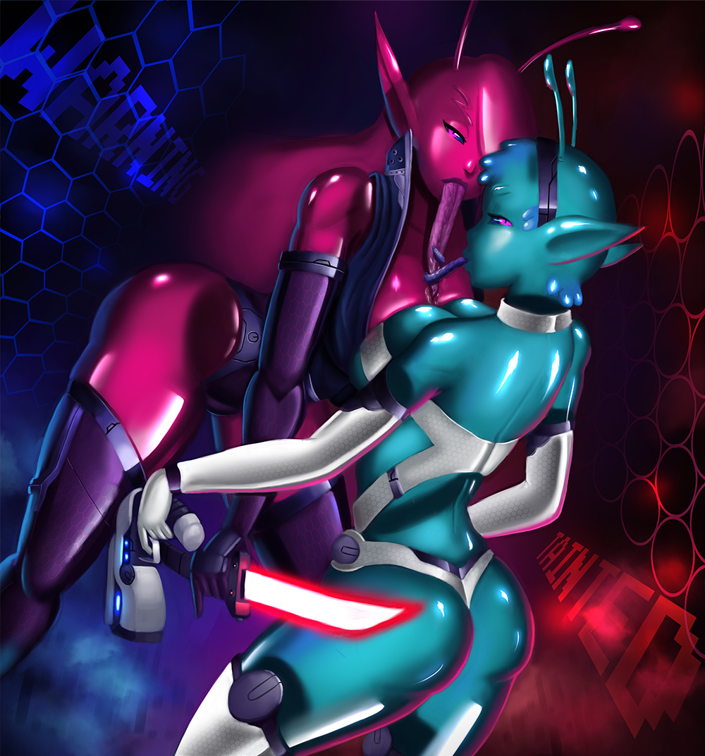 space tainted trials cybernetics in Frantic, frustrated, and female