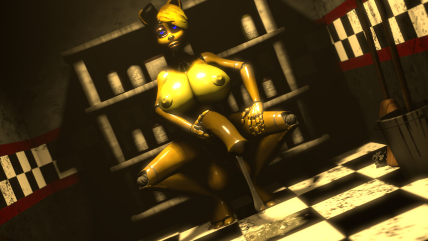 nights five sexualized freddy's at Bendy and the ink machine