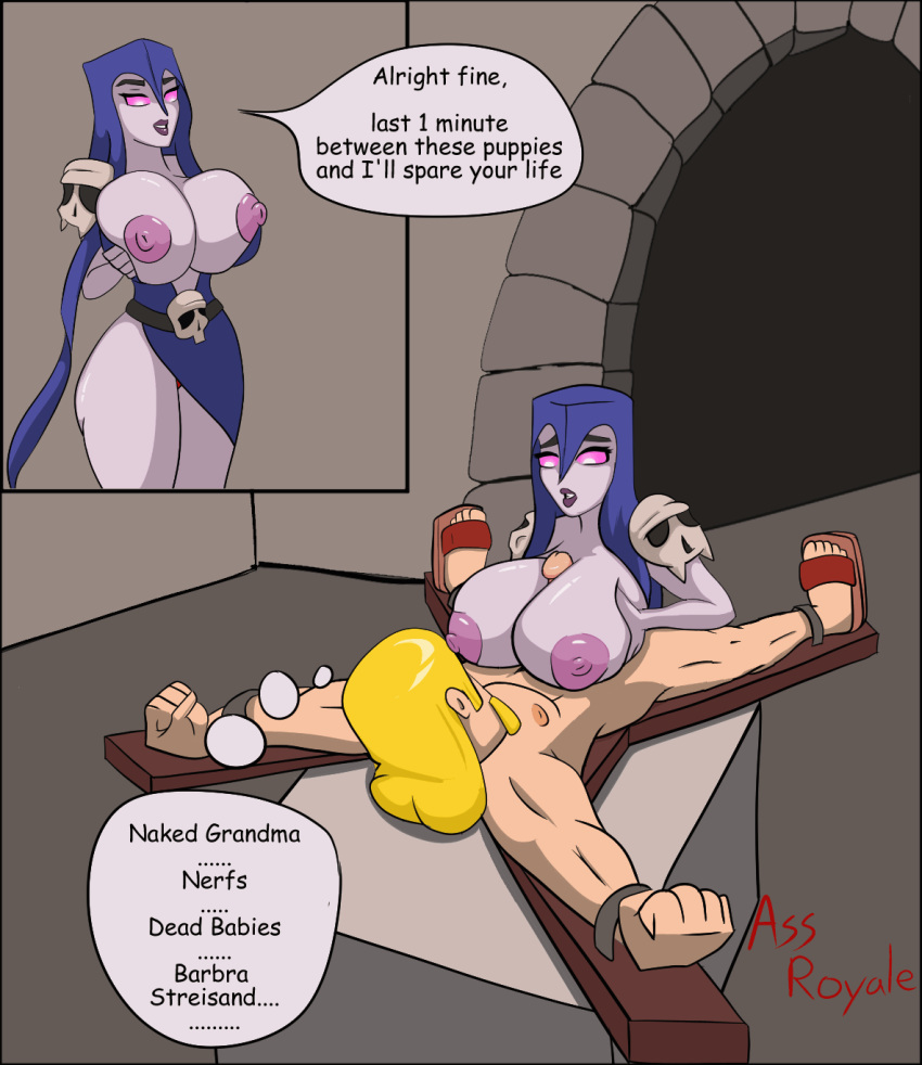 clans clash of naked queen Shiki world ends with you