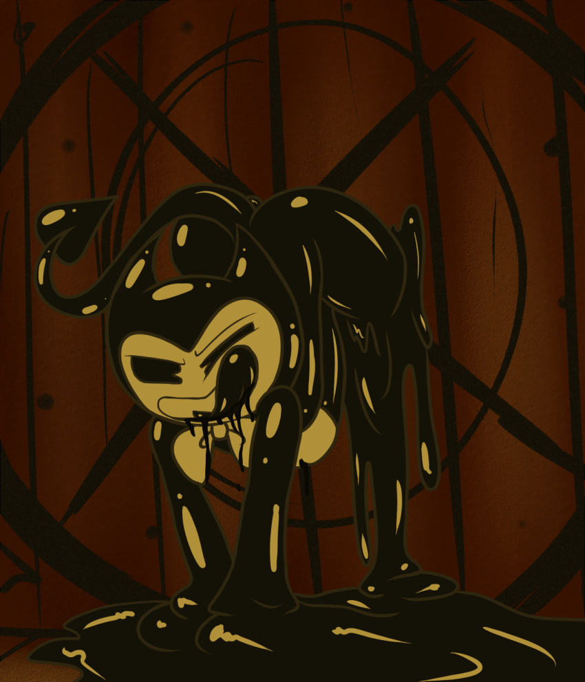 the and machine female bendy ink Abaddon the despoiler no arms
