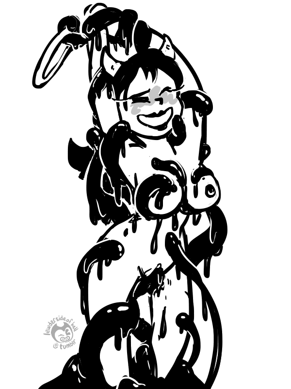 bendy the female machine ink and Ty the tasmanian tiger e621