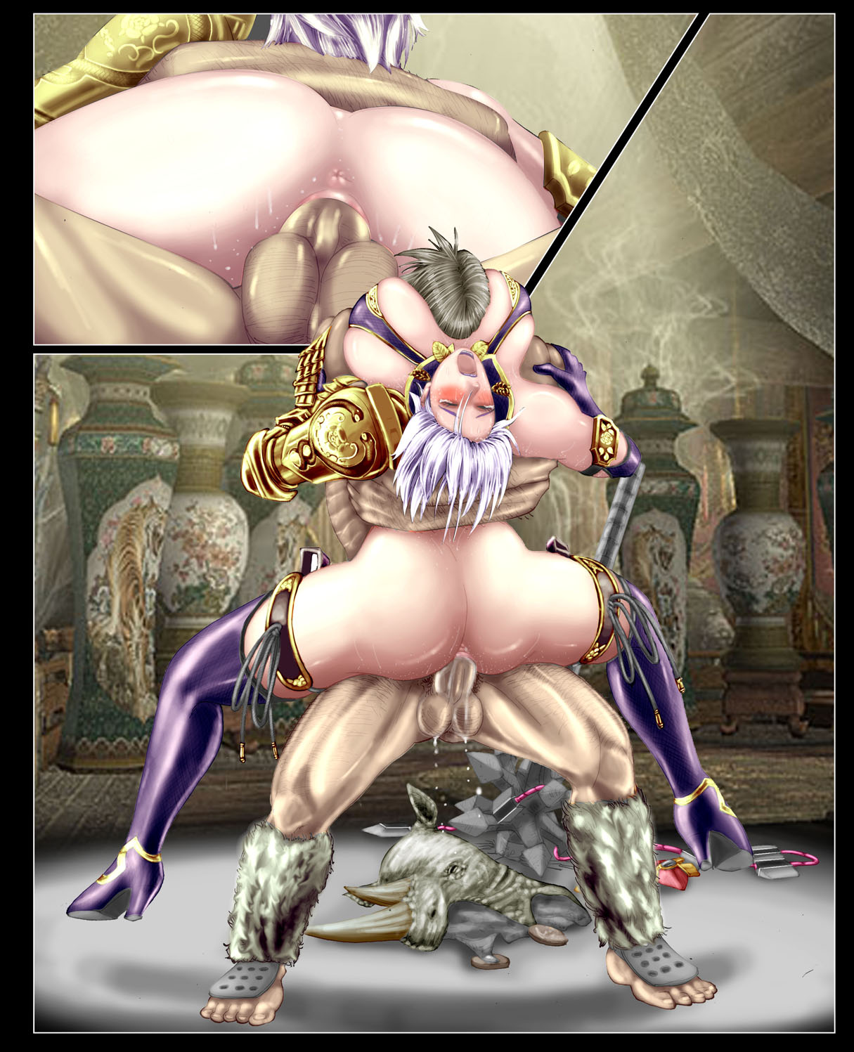 soul seung mina 6 calibur Bloodstained where to go after bloodless