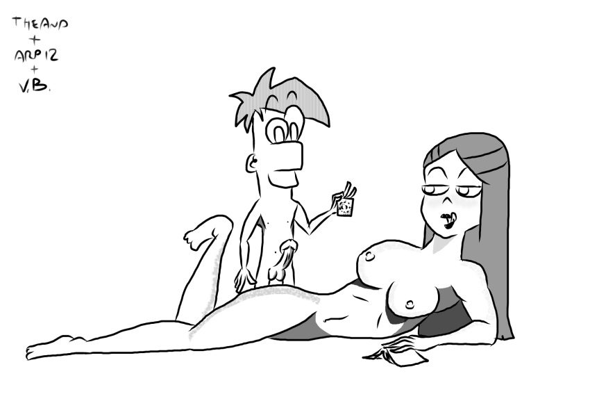 grechen nude phineas ferb and Mangaka-san to assistant-san to