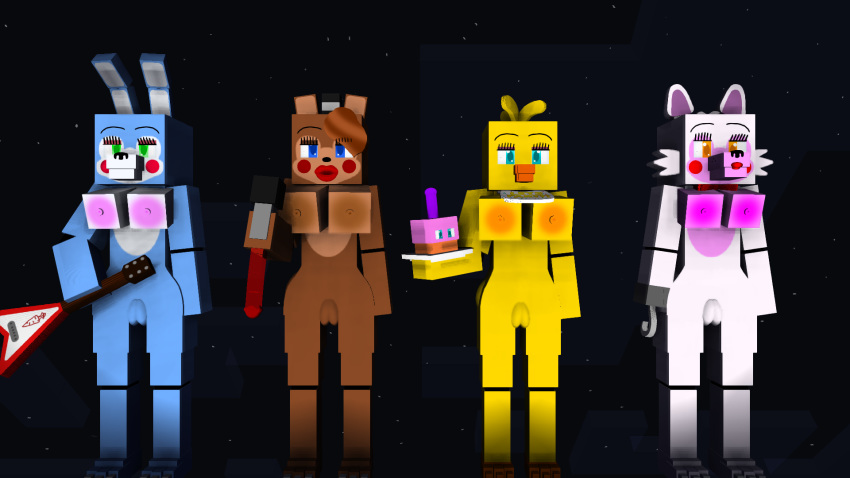 toy toy x freddy chica Street fighter 4 nude mods